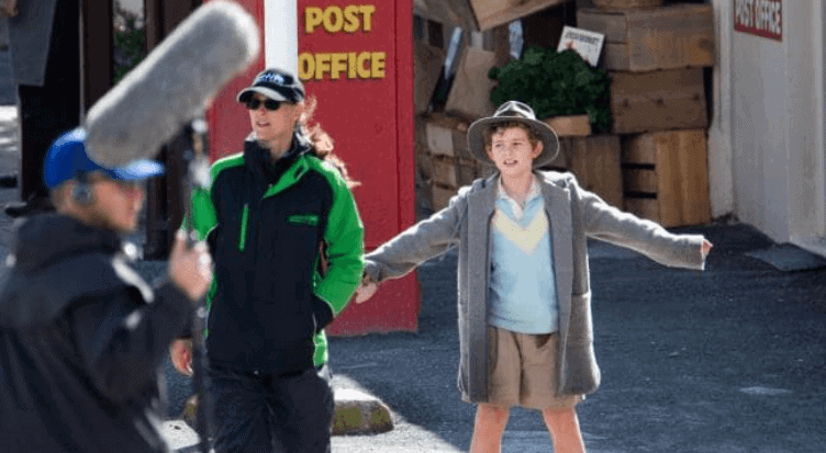 Storm Boy being filmed at Port Elliot. Young actor Finn Little. Picture: Leon Mead Photography